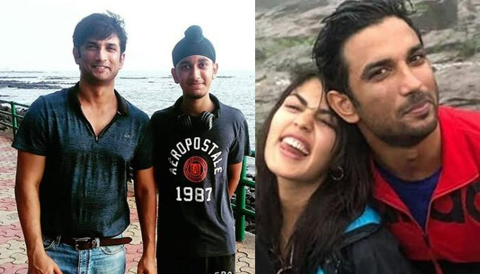 Sushant Singh Rajput And Rhea Chakraborty's Date By The Seaside, Get Clicked With Fans (Pictures)