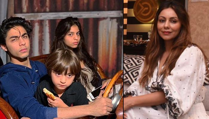 Gauri Khan Gives Glimpse Of Her 'Three Little', Aryan, Suhana And AbRam Basking In The Maldives Sun