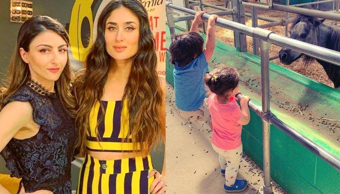 Kareena Kapoor And Soha Ali Khan Hanging Out With Kids, Taimur And Inaaya, Special Guest Joins Them