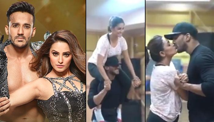 Anita Hassanandani And Rohit Reddy Rehearse For 'Nach Baliye 9' With Endurance And Pinch Of Romance