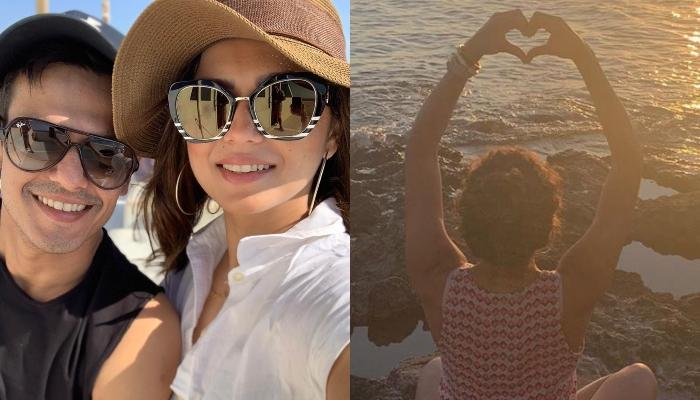 Drashti Dhami Is Enjoying Her Summer Holiday With Husband, Niraj Khemka, Shares A Kissing Picture
