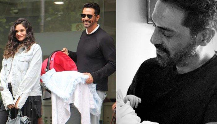 Arjun Rampal Posts A Beautiful Picture Holding His Baby Boy's Little Hand For The First Time