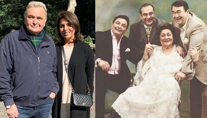 Rishi Kapoor Shares His Feelings Upon Not Attending Mom, Krishna's Funeral Due To Cancer Treatment
