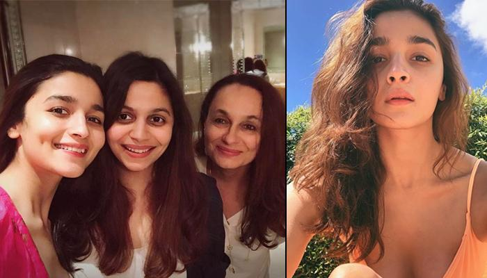 Alia Bhatt 'Sandwiched With Warmth' Between Soni Razdan And Shaheen Bhatt Spell 'A Whole Lotta Love'