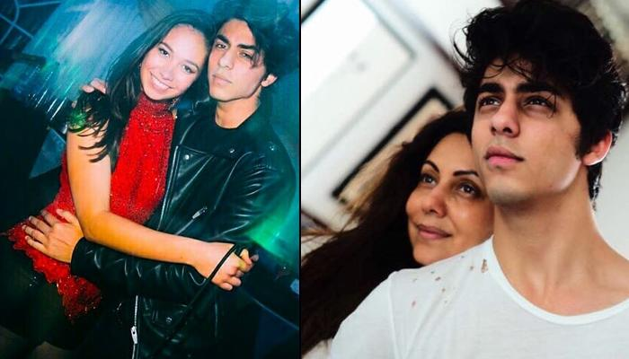 Aryan Khan's Cosy Dance With Mystery Girl, Fans Wonder If She's His Blogger GF Whom Gauri Approved