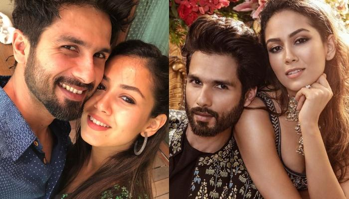 Shahid Kapoor And Mira Kapoor Sizzles On The Cover Of A Magazine, Twins In Anita Dongre's Ensemble