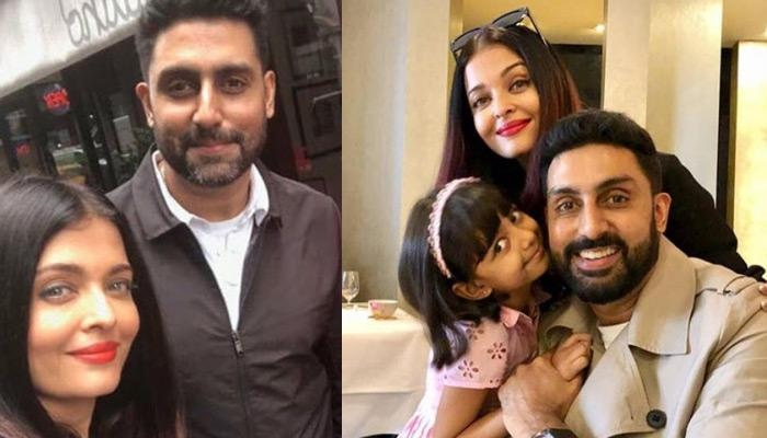 Aishwarya Rai Bachchan And Abhishek Bachchan Enjoy Dinner Date With Aaradhya, All Look Super-Excited