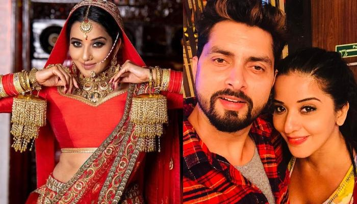 Monalisa Of 'Nazar' Fame Turns Gorgeous Bride, Her Husband, Vikrant's Comment Is Unmissable