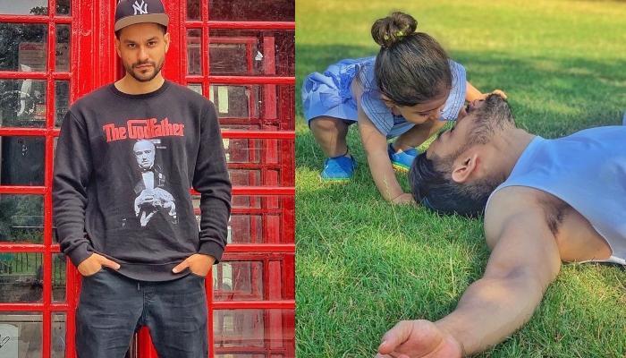 Kunal Kemmu And His Little Princess, Inaaya Naumi Kemmu Show Off Their Swag On London Streets
