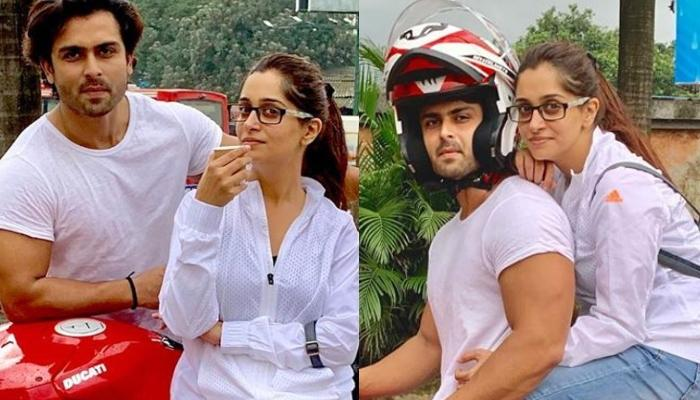 Dipika Kakar And Shoaib Ibrahim Go On Their First Bike Ride Together, Pictures Inside