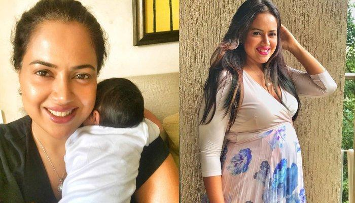 Sameera Reddy Finally Reveals The Name Of Her Baby Girl In A Unique Way, It Has A Divine Meaning