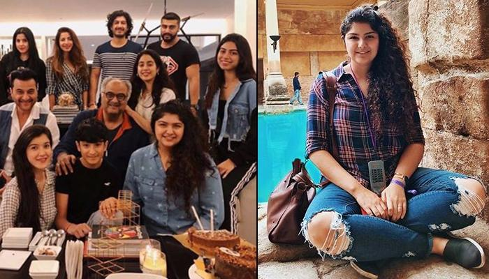 Arjun Kapoor-Janhvi Kapoor And Entire Clan Are Proud Of Anshula Kapoor For Her First Venture Fankind