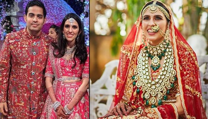 Unseen Picture Of Shloka Mehta From Wedding Reception Proves Why Red Will Always Be Bride's Colour