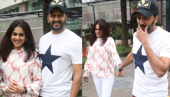 Riteish Deshmukh And Genelia D'Souza Give Us Couple Goals As They Get Clicked On A Lunch Date