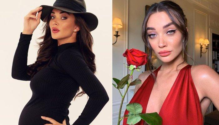 Amy Jackson Posts A Bare-Bodied Picture Of Herself Flaunting Her Stretch Marks And Baby Bump