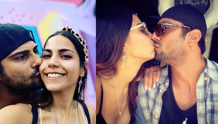 Prateik Babbar And Wife, Sanya Sagar Are All Kisses And Selfies On Their Romantic LA Vacation (Pics)