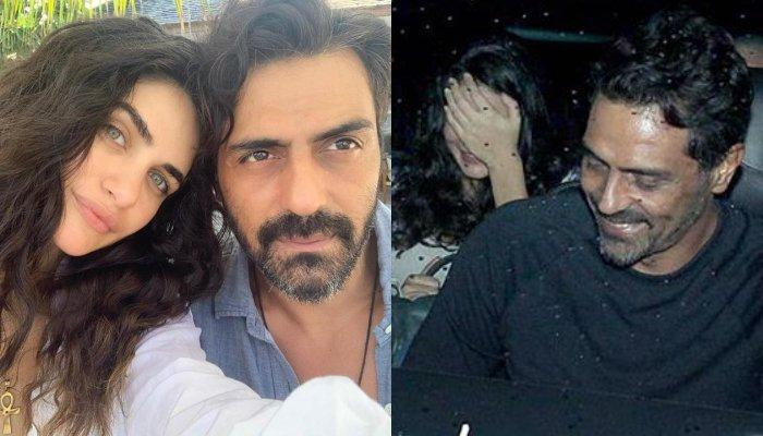 Arjun Rampal Goes On A Dinner Date With GF, Gabriella Demetriades And Her Parents, He Looks So Happy