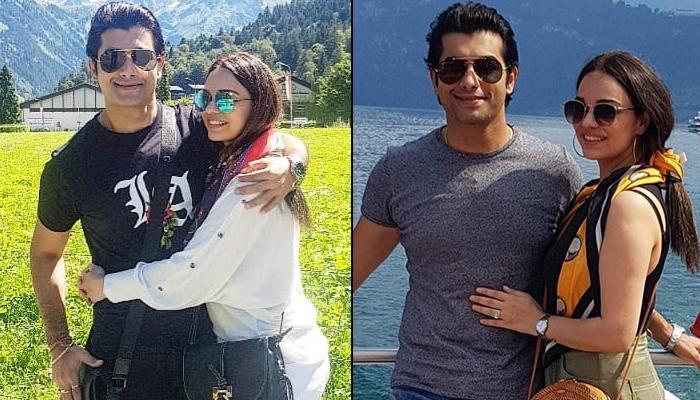 Sharad Malhotra Celebrates His 'Darling Wifey' Ripci Malhotra's Birthday In Switzerland, Pics Inside