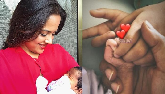Sameera Reddy Spends A Relaxing Sunday With Her Daughter, Nyra, Shares A Cute Glimpse Of Her