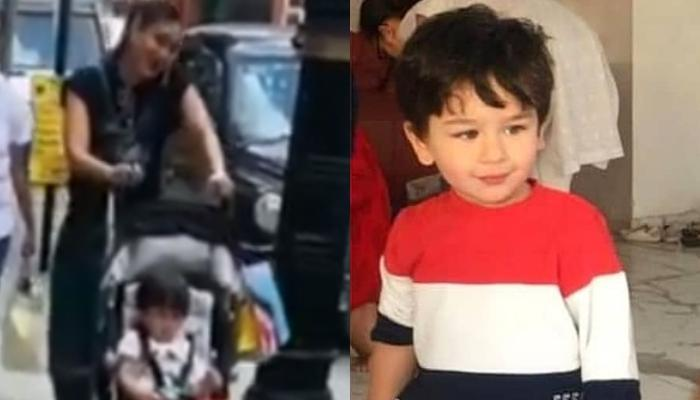 Kareena Kapoor Khan Goes On A Shopping Date With Son, Taimur Ali Khan In London [Video Inside]