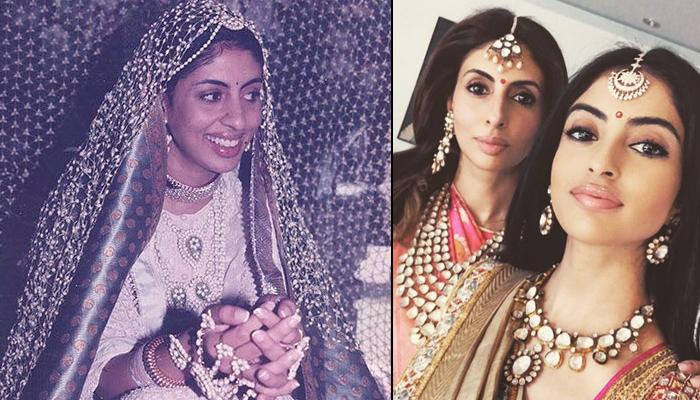 Shweta Bachchan Made A Statement In White On Wedding Ceremonies, Resemblance With Navya Is Uncanny