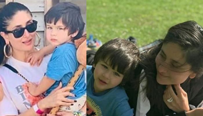 Taimur Ali Khan Spends A Chilled-Out Afternoon With Mommy, Kareena Kapoor Khan In London