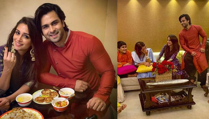 Dipika Kakar Ibrahim And Hubby Shoaib Ibrahim Share Adorable Pictures From Their Eid Celebration