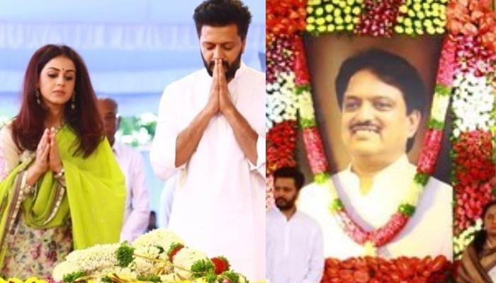 Genelia Deshmukh Remembers Father-In-Law, Vilasrao Deshmukh On His Seventh Death Anniversary