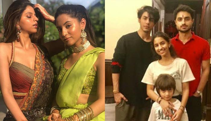 SRK's Kids, Aryan And AbRam Celebrated Rakhi Without Suhana, Had Fun With Cousin, Alia (Pics)