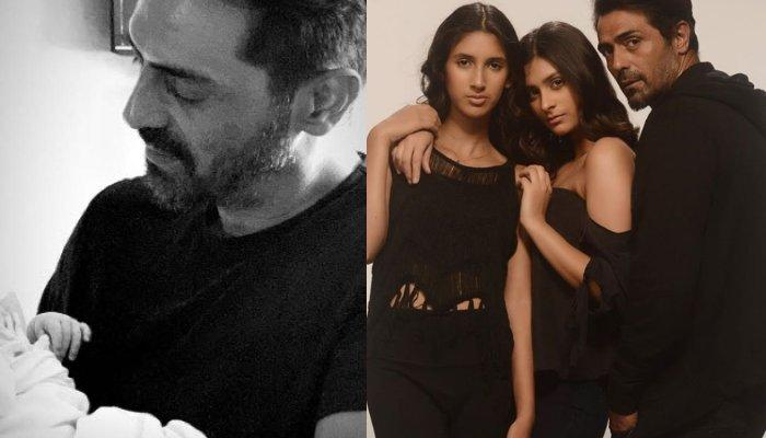 Arjun Rampal's Son, Arik Celebrates His First Rakhi With Half-Sisters From His Royal Baby Cot