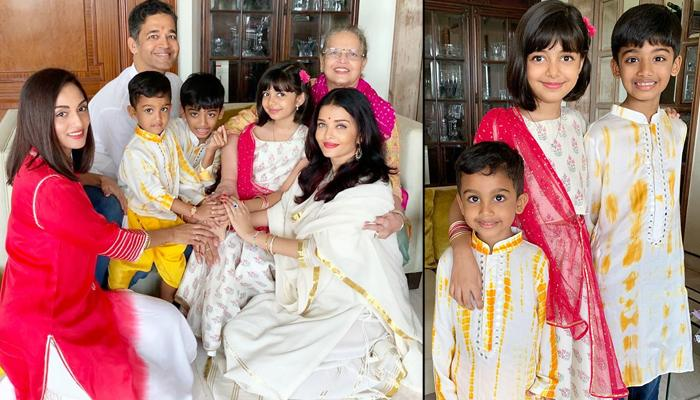 Aishwarya Rai Bachchan's Bhabhi Shrima Rai Gives A Glimpse Of Rakhi Celebrations In Rai Clan [VIDEO]