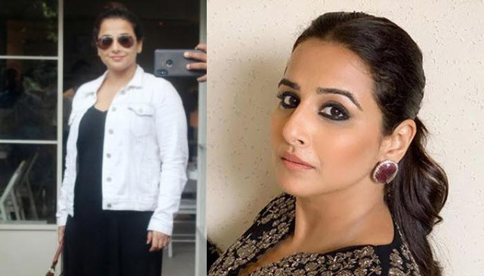 Vidya Balan Rubbishes Pregnancy Rumours Over Latest Picture, Says Hasn't She Just Delivered A Baby