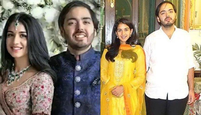 Anant Ambani Attends Radhika Merchant's Family Function, Complement Each Other In Traditional Wears