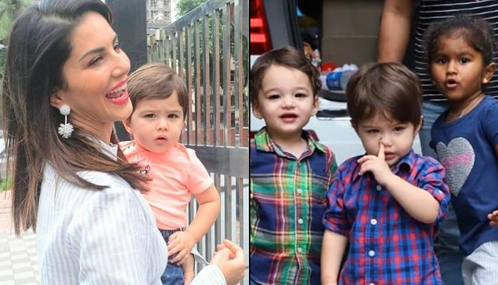 Sunny Leone And Daniel Weber's Hilarious Reaction To Son, Asher's Nose-Picking Moment Shot By Media