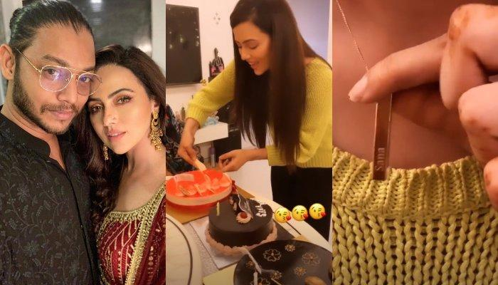 Sana Khaan's Boyfriend, Melvin Louis' Birthday Gift For Her Made Her All Emotional, Shares A Video