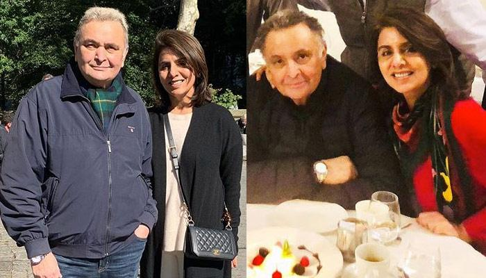 Rishi Kapoor Can't Thank Neetu Kapoor Enough For Being His Rock During The Cancer Treatment