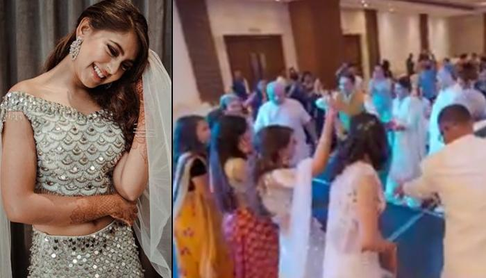 Niti Taylor's 'Saras Che' Garba Performance With Family On Her Engagement, Channels Inner Gujarati