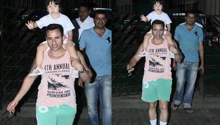 Saif Ali Khan Gets Angry With Paps Who Won't Stop Clicking Taimur Ali Khan, Says, 'Enough' [VIDEO]