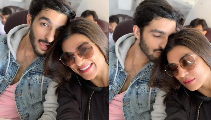 Sushmita Sen Shares Cute Pictures With Beau, Rohman Shawl, Wishes Janmashtami To Their Fans