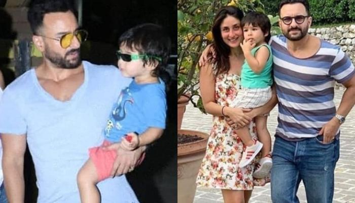 Saif Ali Khan Puts An End To Rumours Surrounding His Son, Taimur's Debut, Says, 'No Chance'