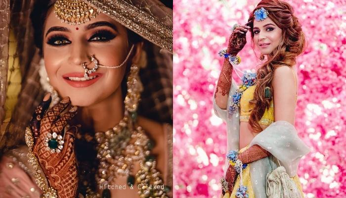 This Ludhiana Bride Wore 3 Celeb Designer Outfits For Her Wedding, Her Bridal Lehenga Is Stunning