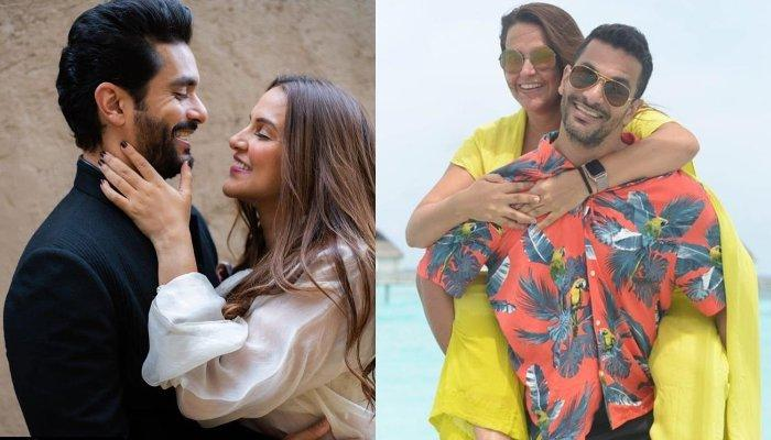 Angad Bedi Posts A Heartfelt Birthday Wish For Neha Dhupia, Wants Daughter Mehr To Become Like Her