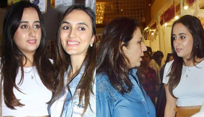 Natasha Dalal Spotted Shopping With Varun Dhawan's Mother, Karuna And Bhabhi, Jaanvi Dhawan