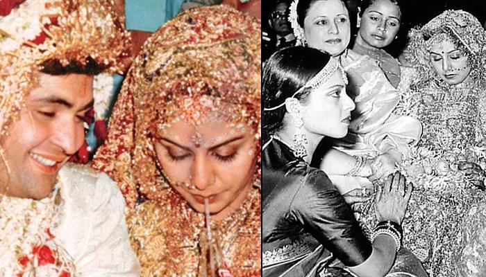 Unseen Picture Of Neetu Kapoor From Her Chooda Ceremony With Close Friend, Rekha Performing Rituals