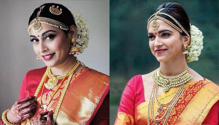 'Siya Ke Ram' Fame, Snigdha Akolkar's Bridal Look Reminds Us Of Chennai Express' Deepika Padukone