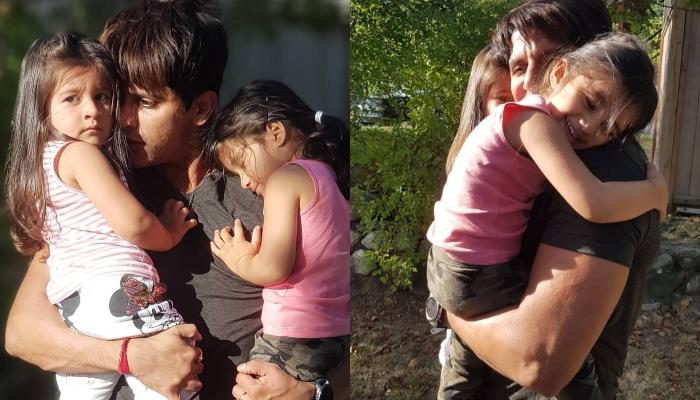 Karanvir Bohra's Daughters, Vienna And Bella Share A Cute Birthday Wish For Their 'Daddy'
