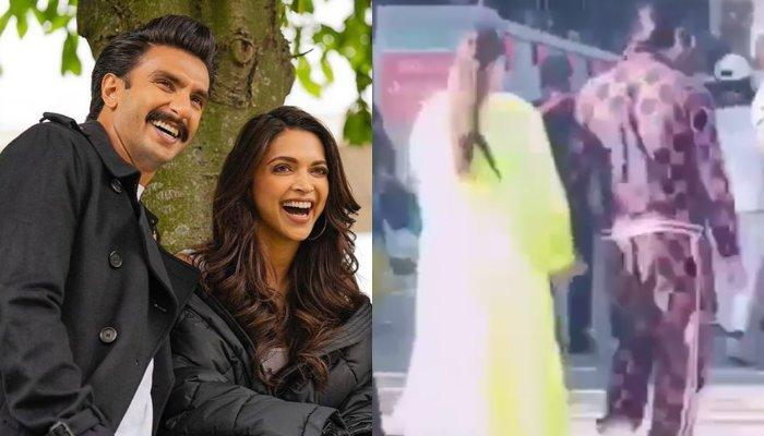 Deepika Padukone Can't Leave Hubby, Ranveer Singh's Hand As She Walks With Him On London Streets