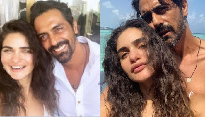 Arjun Rampal Is Impressed By GF Gabriella As She Wore His Suit Better Than Him, Can't Stop Praising