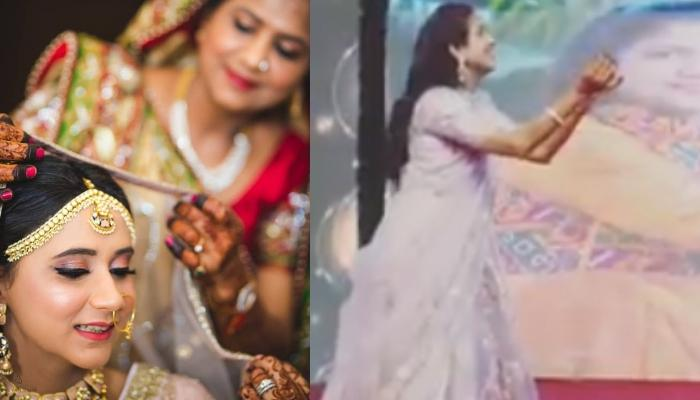 This Bride's Mother Steals The Show At Her Daughter's Sangeet With A Soulful Dance Performance