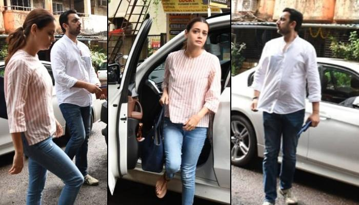 Dia Mirza And Sahil Sangha Clicked Together For The First Time After They Announced Their Separation